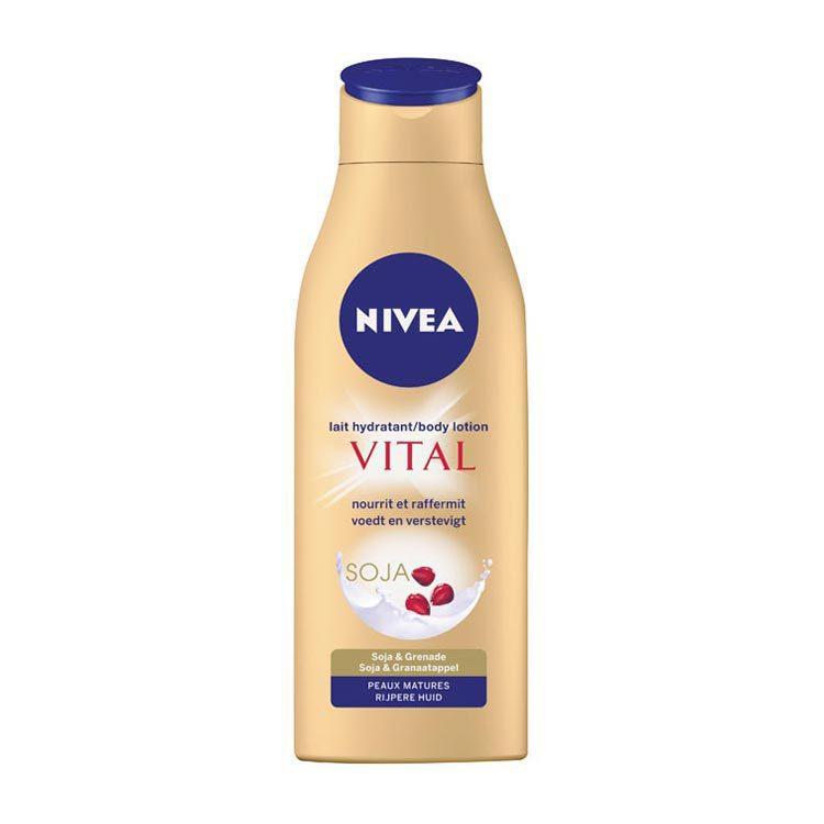 Nivea Body Milk Vital Anti-age Met Pomp 250ml