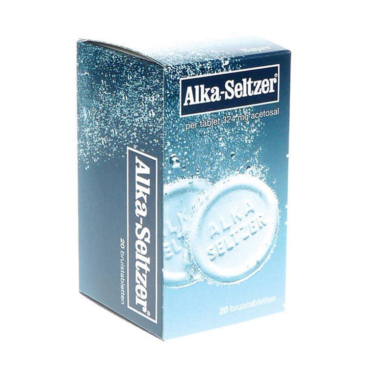 Alka Seltzer Bruistablet 20tb