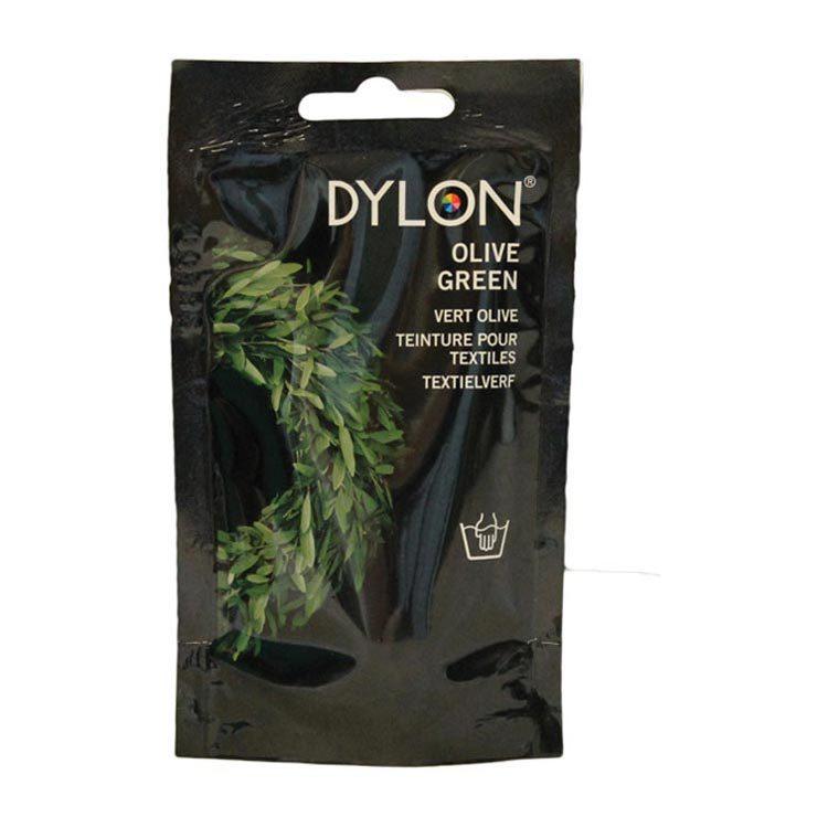 Dylon Textielverf handwas olive green 34 50g