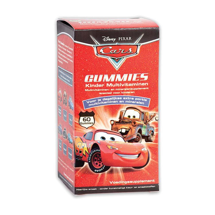 Disney Kinder Multivitaminen Cars 60stuks