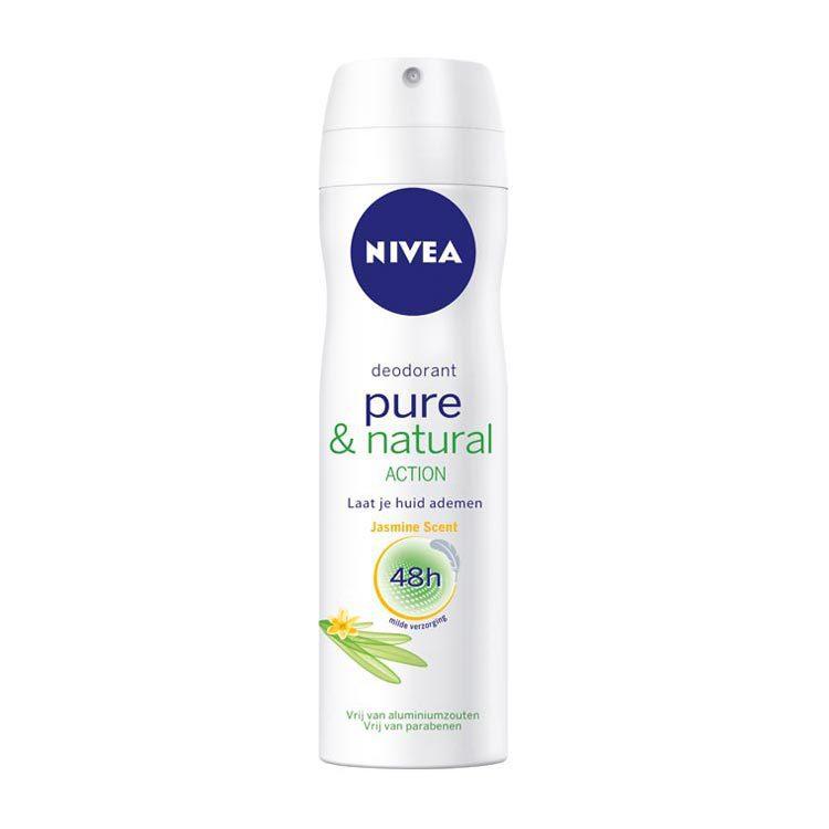 Nivea Deodorant Deospray Pure and Natural Jasmine Scent 150ml