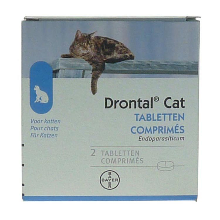 Drontal Kat klein ontworming 2st