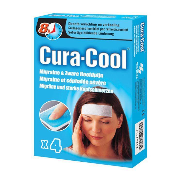 Be Cool Cura Cool Migraine and Zware Hoofdpijn 4stuks