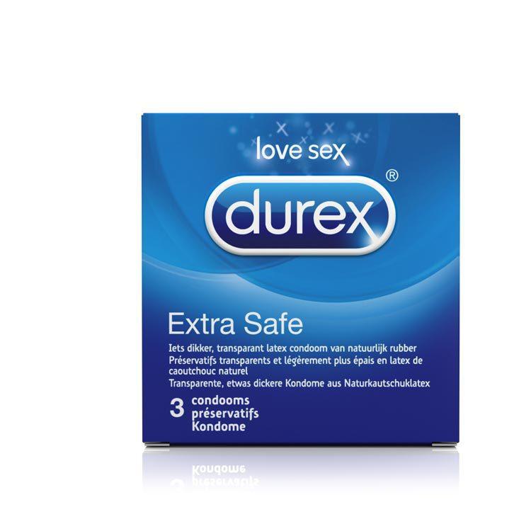 Durex Extra safe 3 3st
