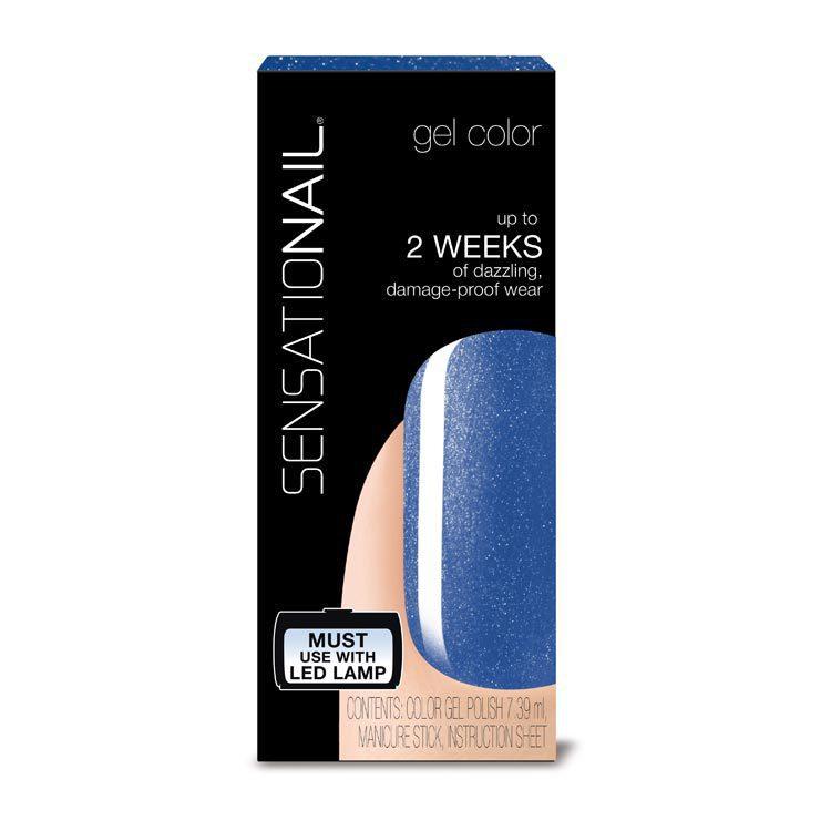Sensationail Gelnagellak Something Blue 1st