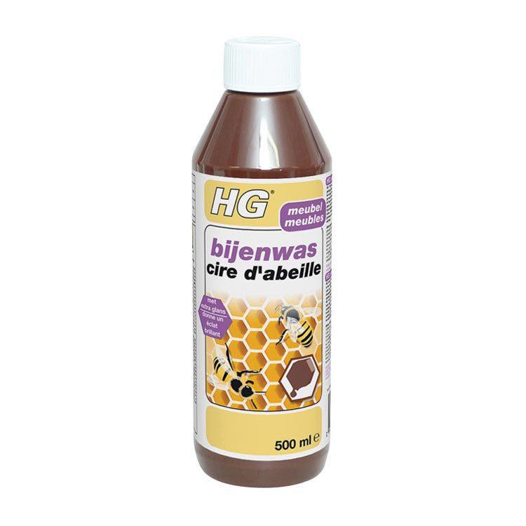 HG Bijenwas Bruin 500 ml