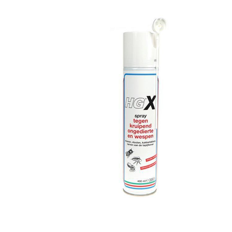 hg anti insecten x spray tegen kruipende ongedierte en wespen 400 ml voordelig online kopen. Black Bedroom Furniture Sets. Home Design Ideas