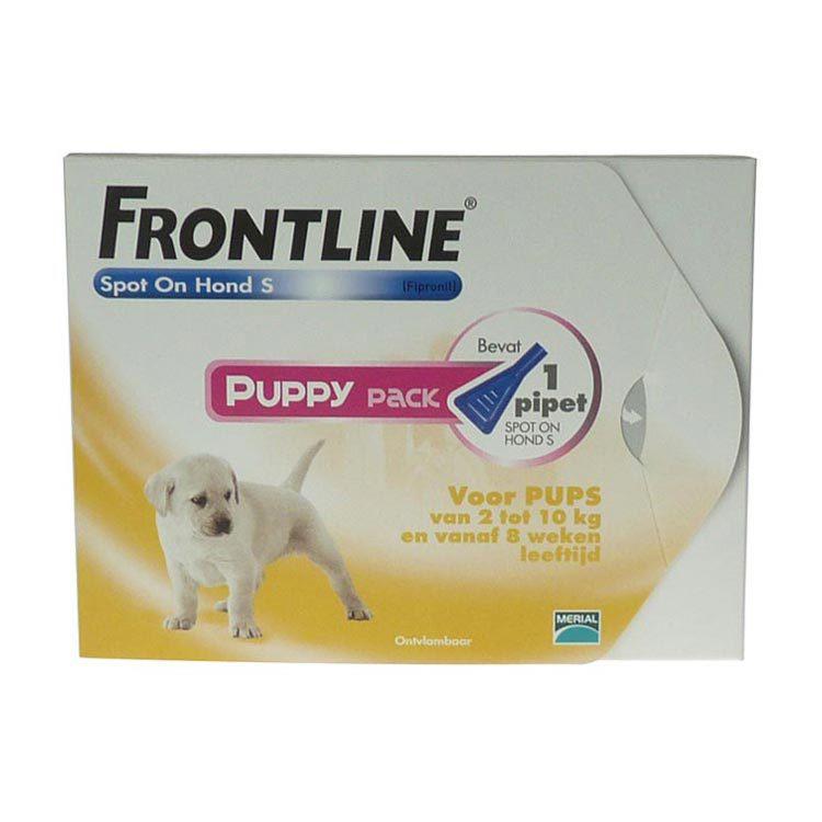 Frontline Spot on 3 plus 1 hond s 2 10kg vlo en teek 4st