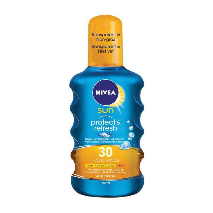 Nivea Sun Protect and Refresh Spray Factor(spf)30 200ml