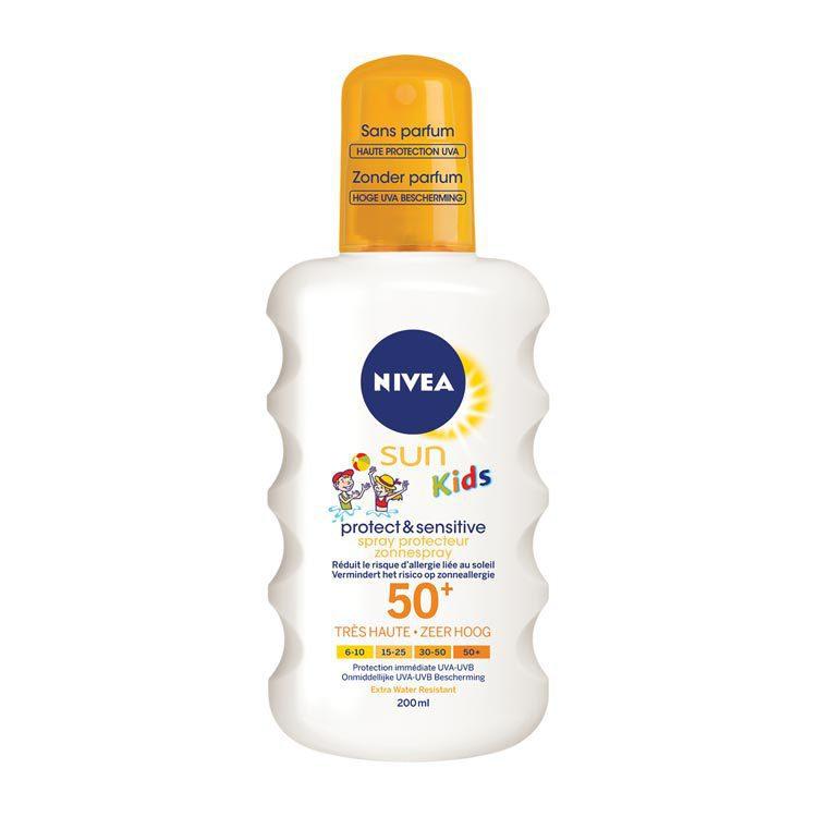Nivea Sun Kids Pure and Sensitive Spray Factor(spf)50+ 200ml