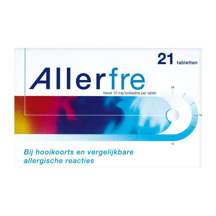 Allerfre Hooikoorts tabletten 10mg 21 tabletten