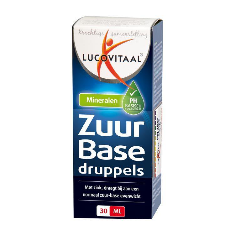 Lucovitaal Zuur Base Druppels 30ml