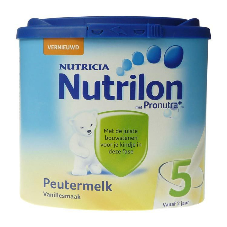 Nutrilon 5 peuter groeimelk vanille poeder