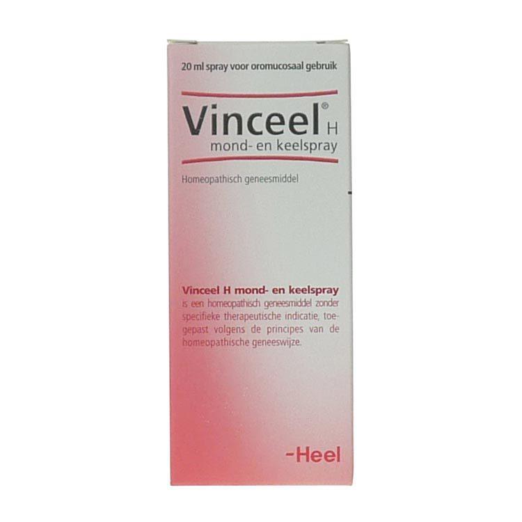 Heel Vinceel h mond keelspray 20ml