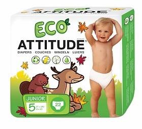 Attitude Luiers 5 Junior 12+ Kg 18tot24mnd 22stuks