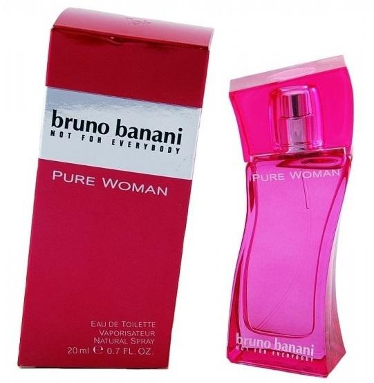 bruno banani parfum pure woman eau de toilette 20 ml voordelig online kopen. Black Bedroom Furniture Sets. Home Design Ideas