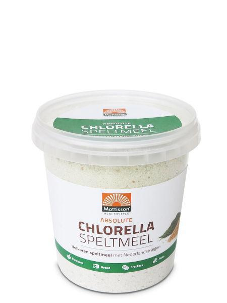Mattisson Absolute chlorella speltmeel brood 450g