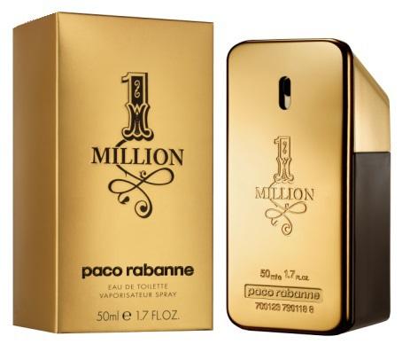 Paco Rabanne One Million Eau De Toilette Man 50ml