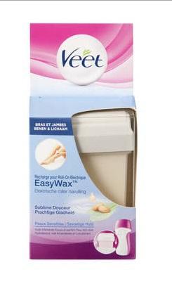Veet Easy wax gevoelige huid navulling amandel 50ml