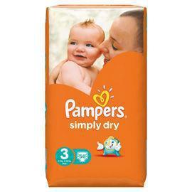Pampers Simply Dry Maat-3 56stuks
