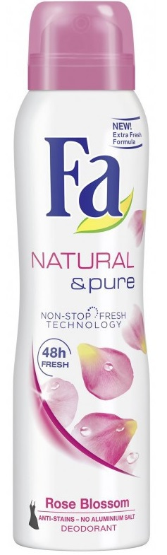 Fa Deospray natural pure rose 150ml