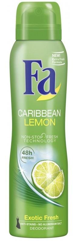 Fa Deospray Caribbean Lemon 150 ml
