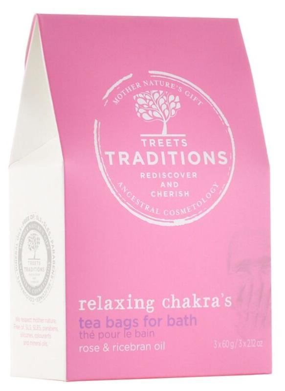 Treets Relaxing chakra's bath tea 3st