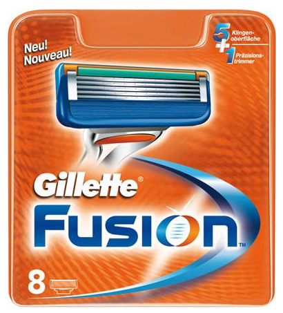Gillette Fusion Scheermesjes 8 st