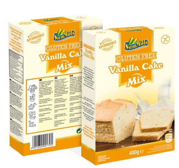 Sam Mills Cake mix vanille 400gr