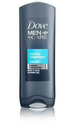 Dove Men+Care Showergel Body And Face Clean Comfort 250ml