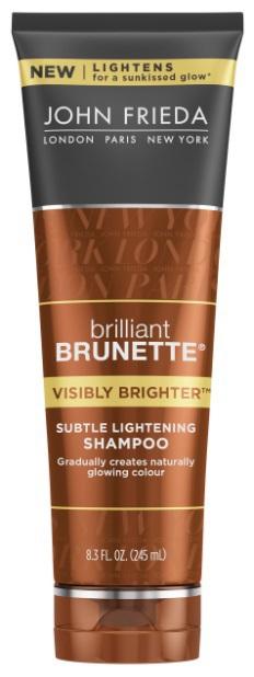 John Frieda Brilliant Brunette Shampoo Visibly Bright 250ml
