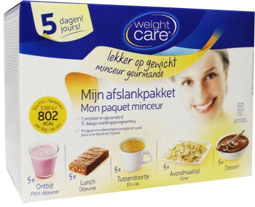 Weight Care 5-dagen Minikuur 810kcal Set