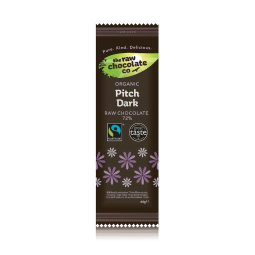 Mattisson Afslankreep chocolade pitch dark raw 44g