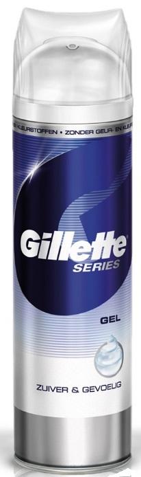 Gillette Series scheergel pure sensitive 200ml