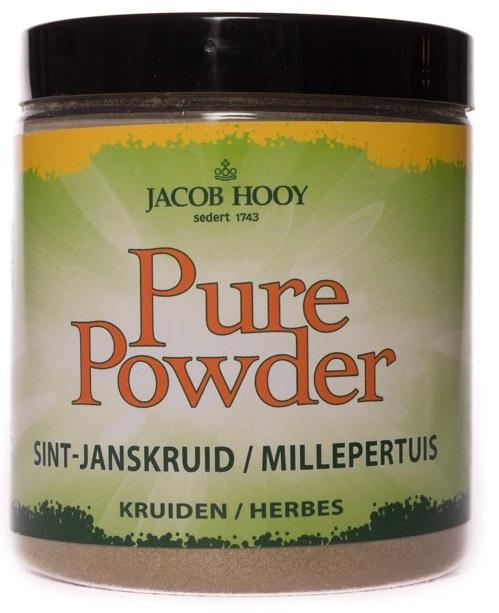 Jacob Hooy Pure powder sint janskruid 100 gram 100gram