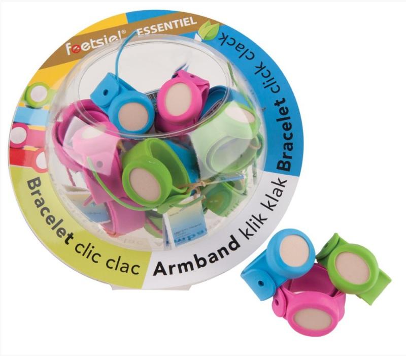 Foetsie Klik klak citronella armband 16 x 1st