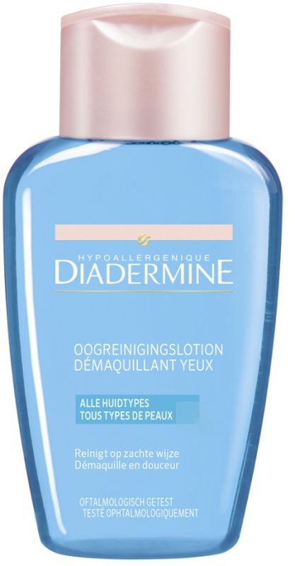 Diadermine Reinigingslotion oog make up regular 125ml