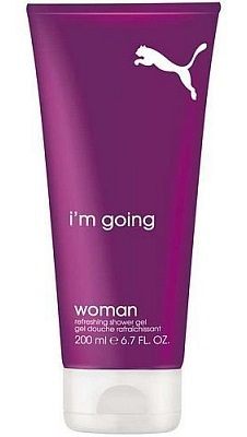 I'm going woman shower gel