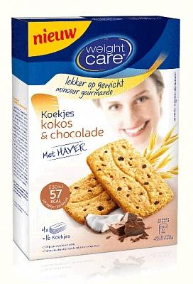 Weight Care Haver koekjes kokos chocolade 200gr