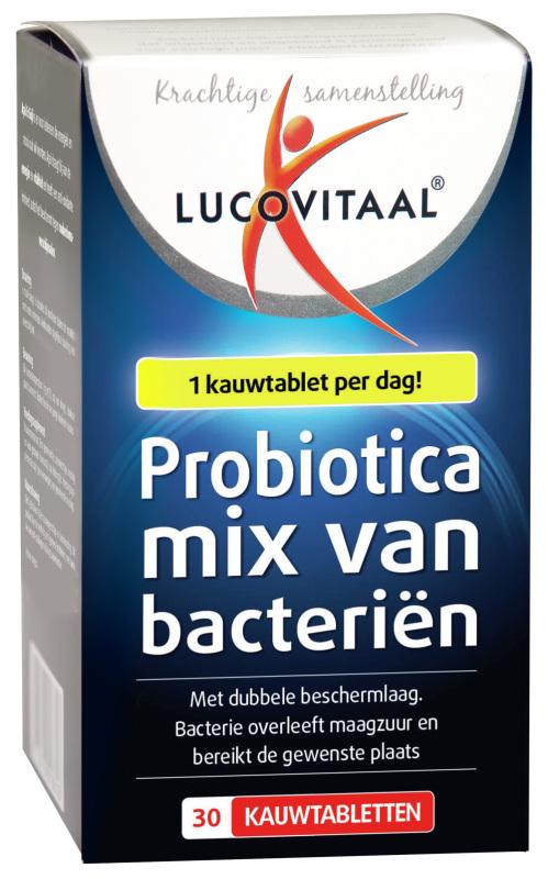 Lucovit Probiotica Kauwtabletten 30 Stuks