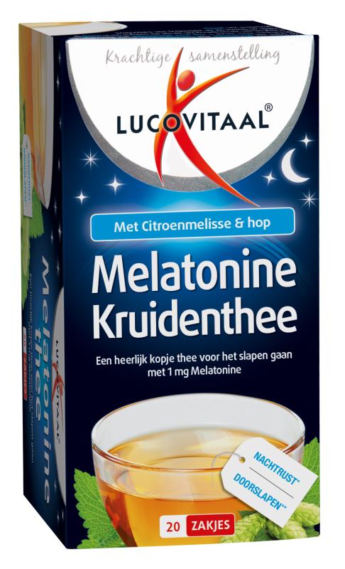 Lucovitaal Melatonine Thee 20st