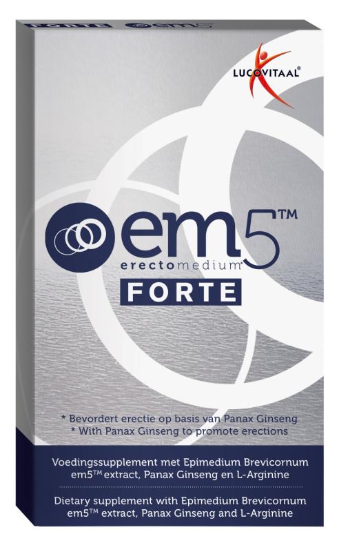 Lucovitaal Erectomedium 5 forte 6cap