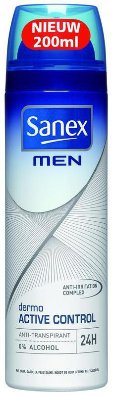 Sanex For Men Deodorant Deospray Active 200ml