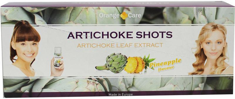 Orange Care Artisjok shots 14st