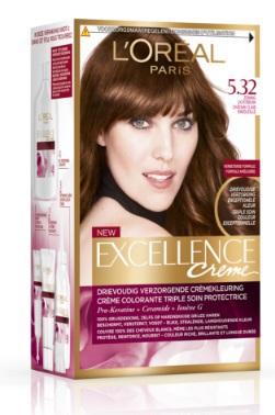 L apos Oréal Paris Excellence creme haarverf zonnig lichtbruin 5.32 1st