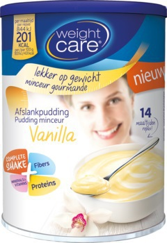 Weight Care Afslankpudding vanille 420g