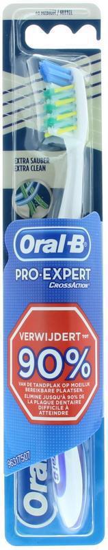 Oral B Tandenborstel Pro Expert Cross Action Stuk