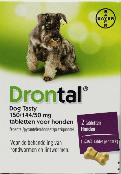 Drontal Dog flavour ontworming 2st