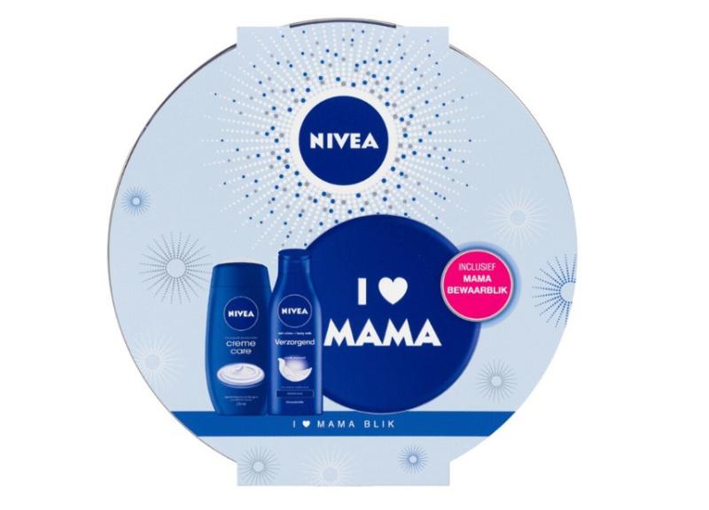 Nivea Geschenkset i love mama blik care 1st