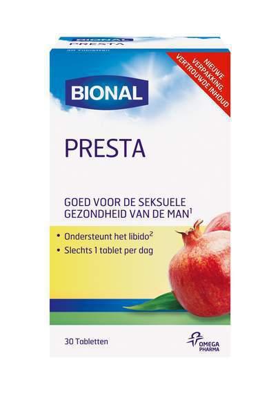 Bional Presta tabletten 30tab